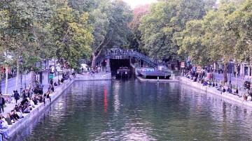 Canal St Martin Paris mon amour, je te quitte. The-return-to-Salone.com