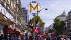 Manifestation loi du travail -Paris mon amour, je te quitte. The-return-to-Salone.com